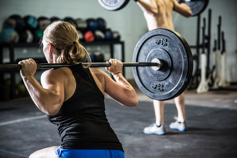 power and intensity WOD