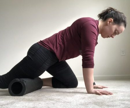 Foam Rolling Your Quads, benefits of stretching