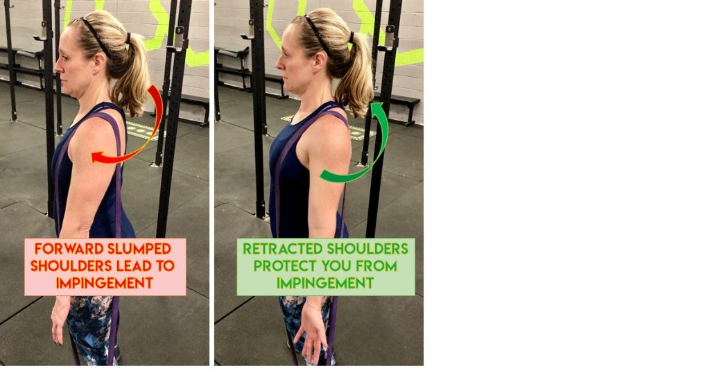 prevent shoulder pain when lifting