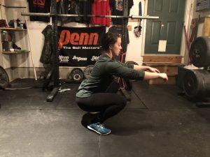 Quad dominant squat flaw