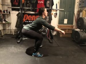 Weak Core in Squat