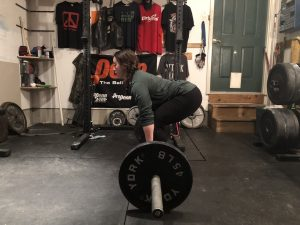 Loss of Core Stability, signs of a weak core, Hyperextension during deadlift