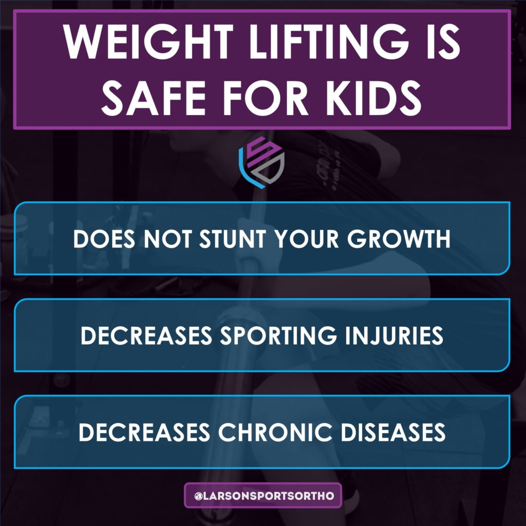is it safe for children to lift weights, kids weight lifting