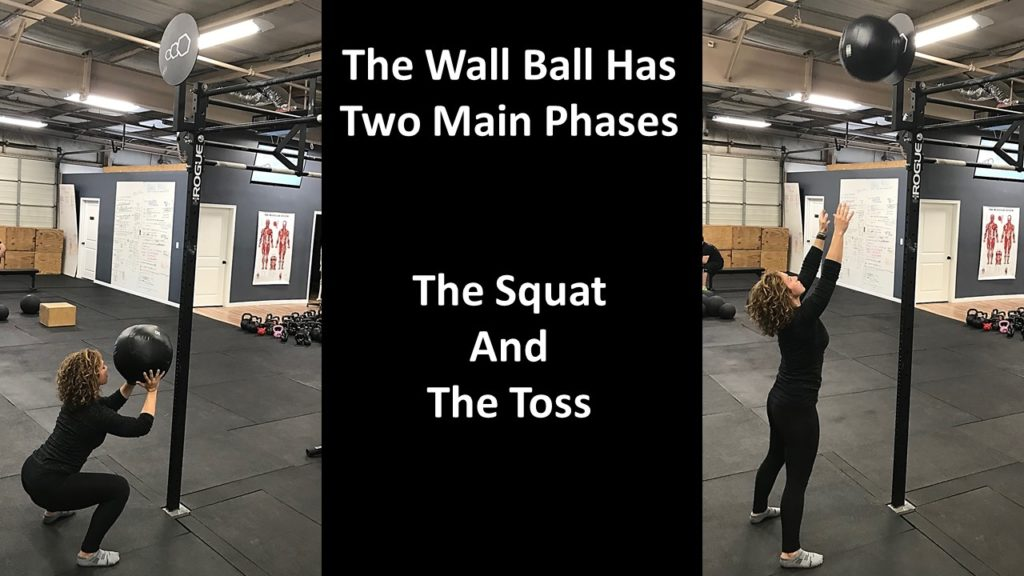 short people wall balls