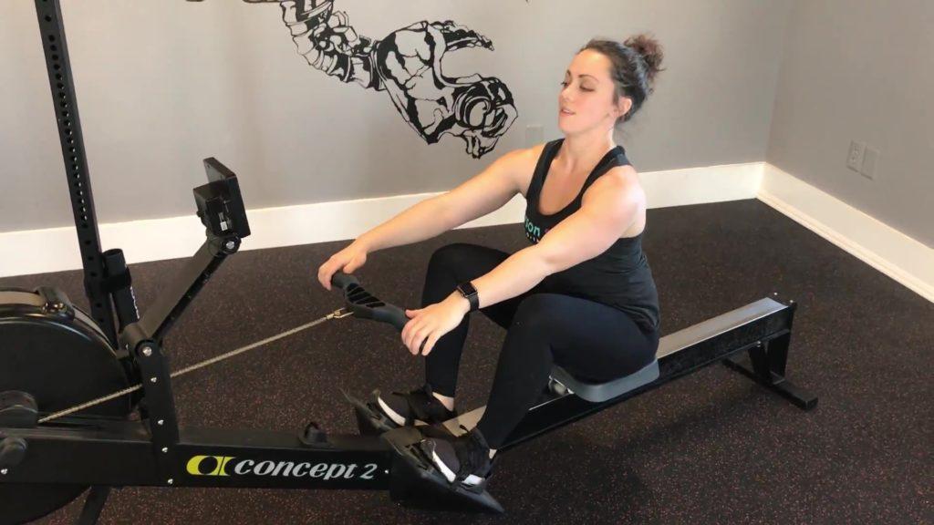 cardio, rowing, gains