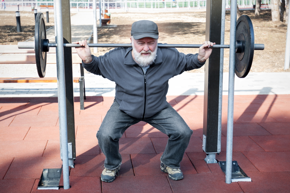 preventing sarcopenia, fitness over 50, squats