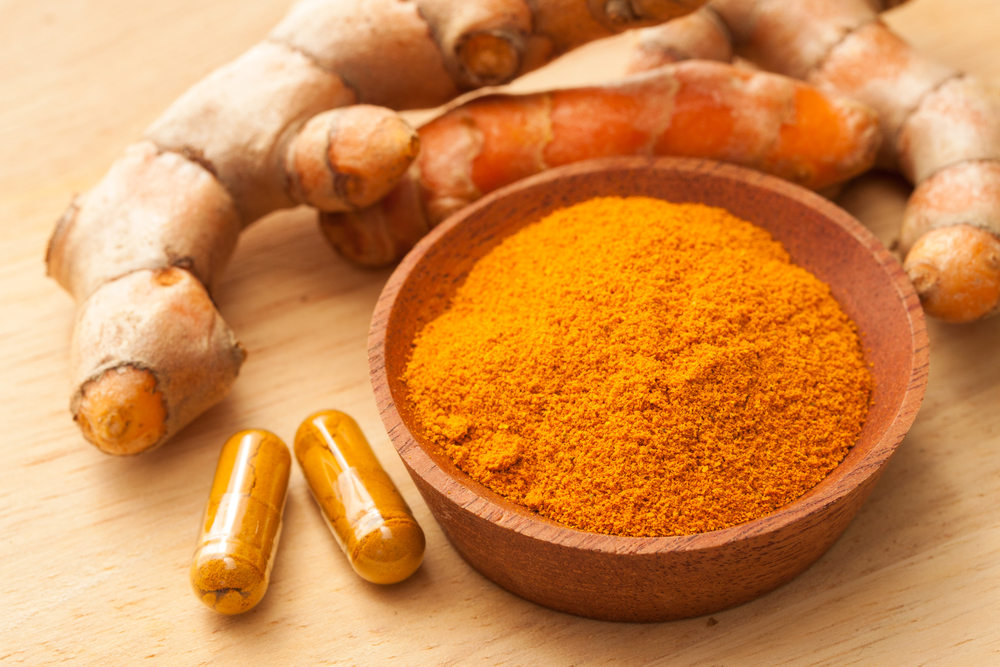 turmeric supplement powder pill root, Turmeric For Pain Relief