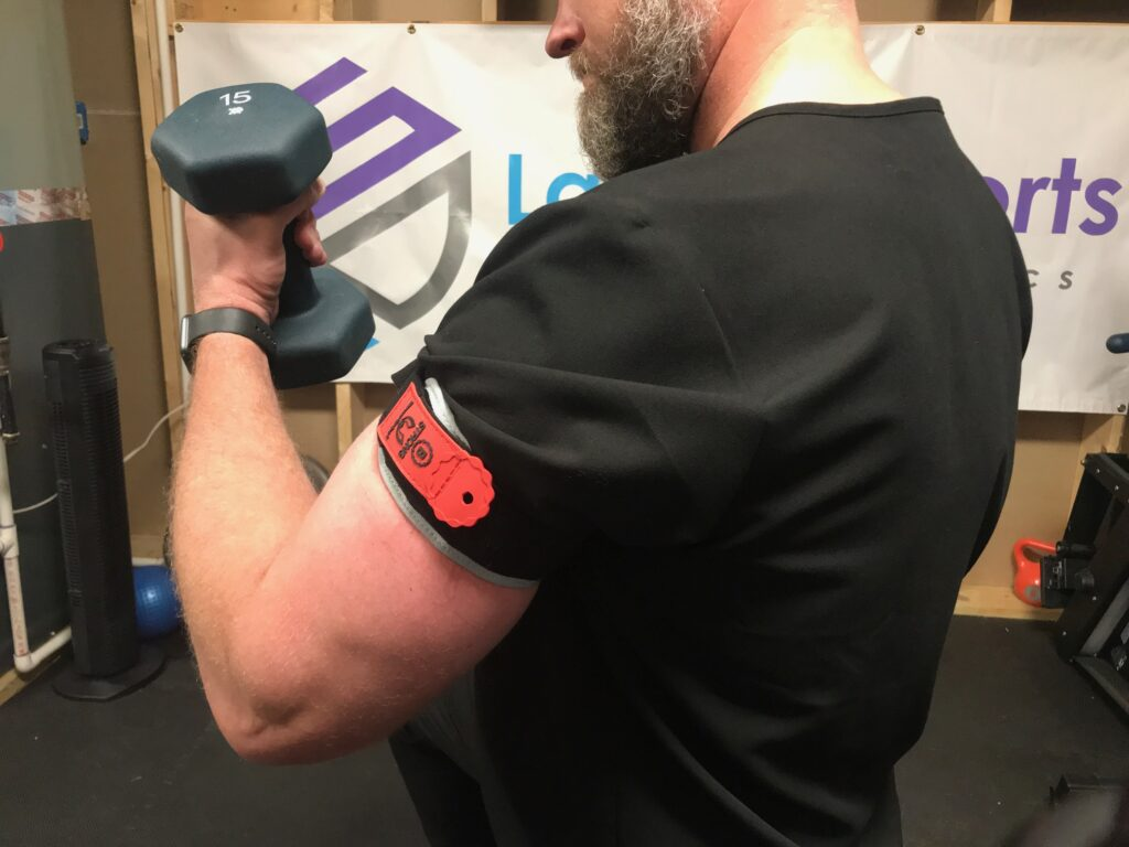 BFR, blood flow restriction training