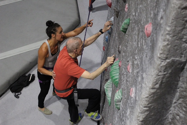 climbing with parkinsons